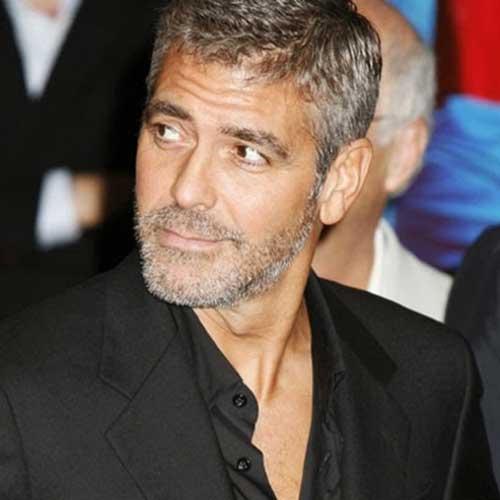 George Clooney Short Hairstyles