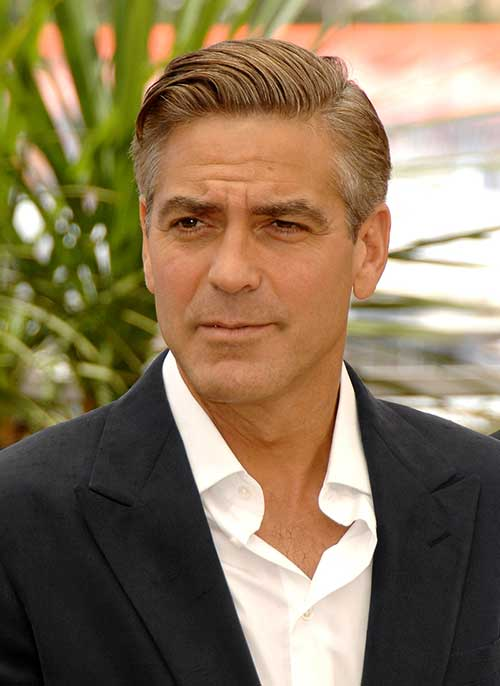 George Clooney Modern Haircuts for Men