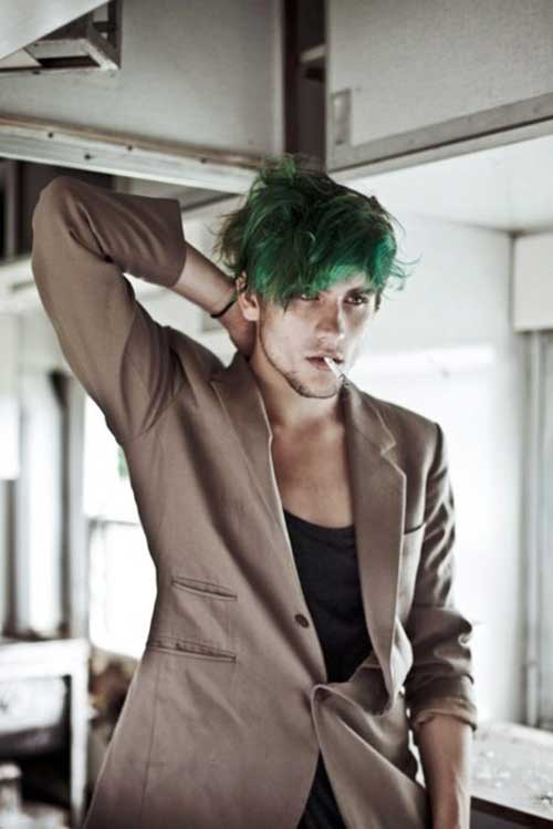 Guy with Green Hair