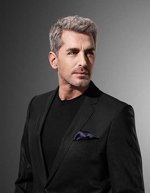 Grey Hair Styles for Older Men