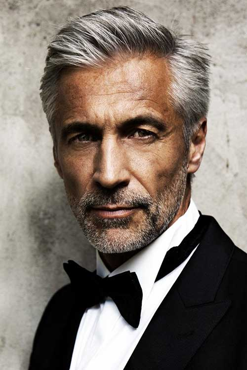 Andreas von Tempelhoff Haircuts for Older Men