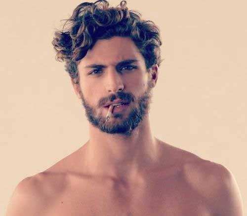 Astonishing 15 Curly Men Hair Mens Hairstyles 2016 Hairstyles For Men Maxibearus