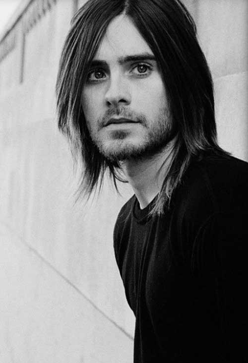 Jared Leto Hairstyles for Men with Fine Hair