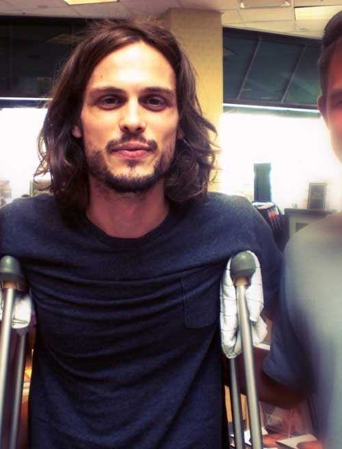 Matthew Gray Gubler Hairstyles for Men with Long Hair