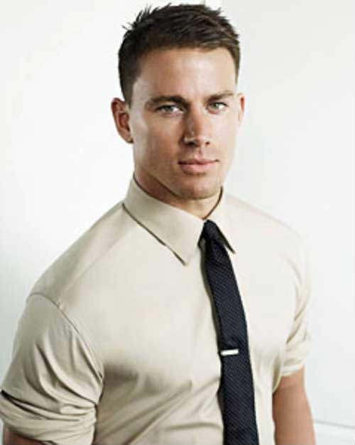 Channing Tatum Hairstyles for Men with Short Hair