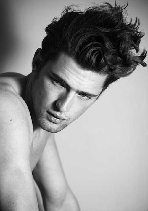 Sean O'Pry Hairstyles for Men with Thick Hair