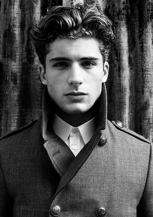 Amazing 10 Thick Wavy Hairstyles For Men Mens Hairstyles 2016 Short Hairstyles Gunalazisus