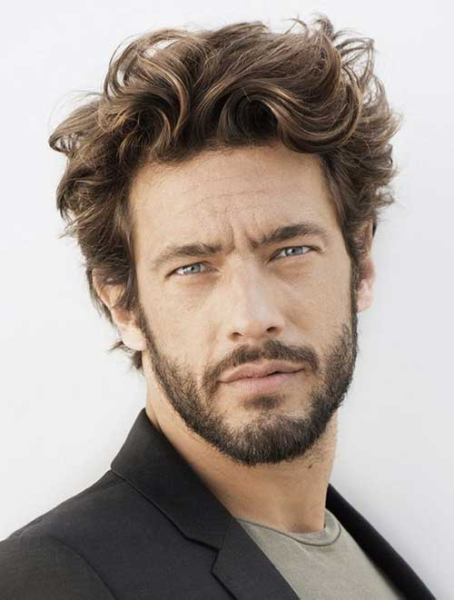Outstanding 16 Haircuts For Wavy Hair Men Mens Hairstyles 2016 Hairstyles For Women Draintrainus
