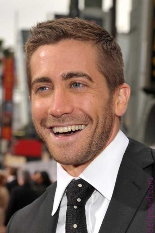 Jake Gyllenhaal Hairstyles for Short Hair Men