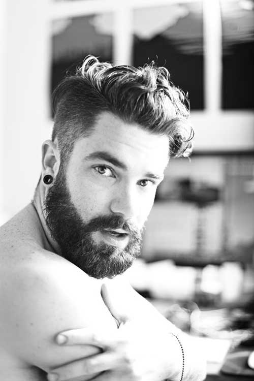 Phenomenal 10 Thick Wavy Hairstyles For Men Mens Hairstyles 2016 Short Hairstyles For Black Women Fulllsitofus