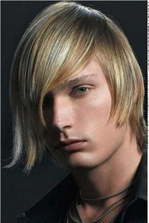 Highlights Men Straight Hairstyles