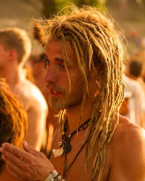 Dreadlock Hair for White Guys