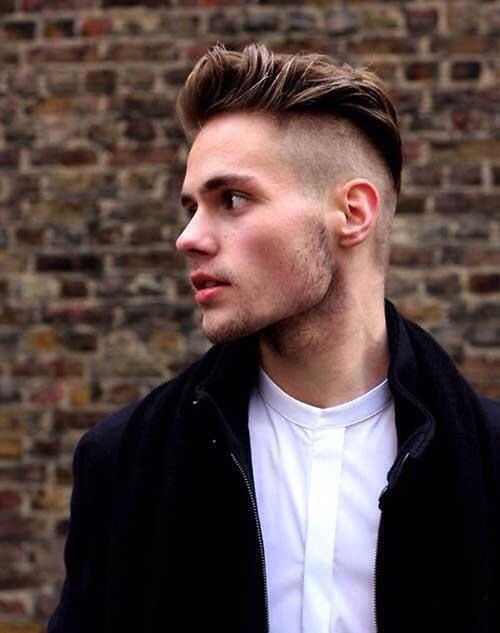 Hombre Mens Shaved Undercut