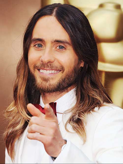 Jared Leto Long Hairstyles