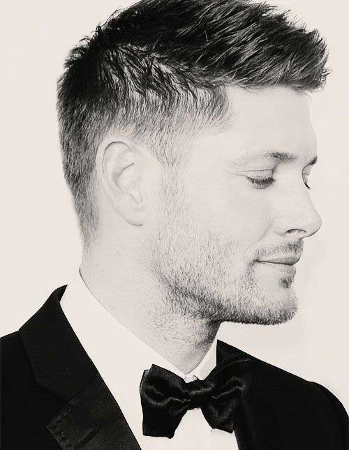 Jensen Ackles Classical Short Hairstyles for Men