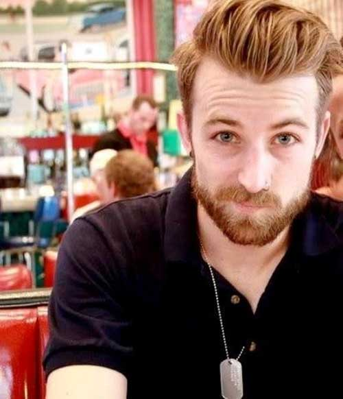 Jeremy Davis Natural Ginger Hairstyle