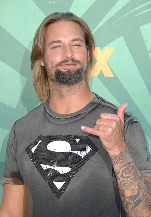Josh Holloway Long Hairstyles Men 2015
