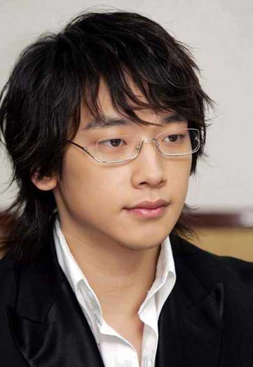 Jung Ji Hairstyles for Asian Mens