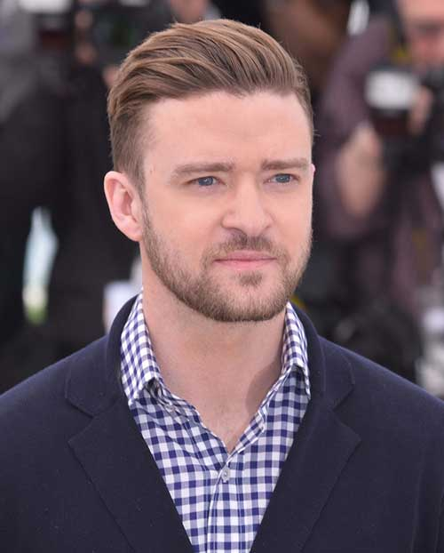 Justin Timberlake Comb Over Hairstyles