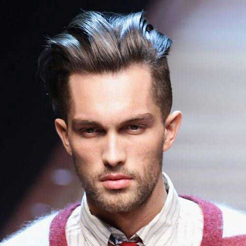 Laid Back Dark Hairstyles for Men