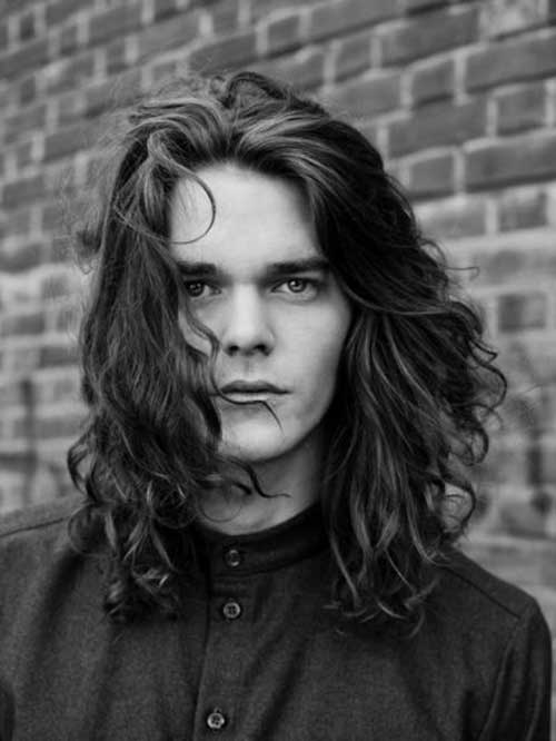 Latest Men with Long Hairstyles for Men 2014-2015