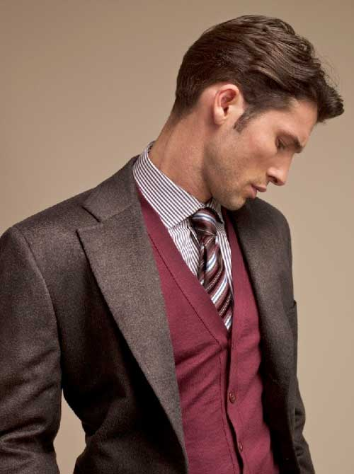 Classy Layered Haircut for Men