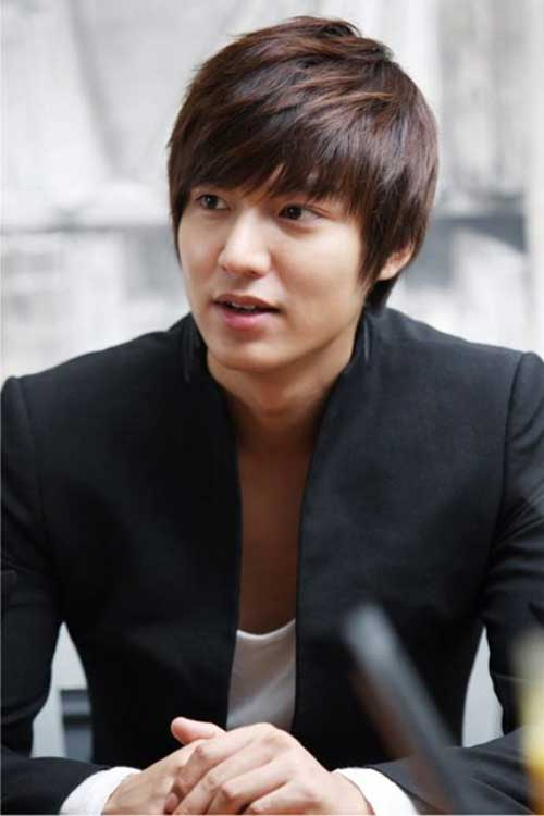 Lee Min-ho Hairstyles for Asians Guys