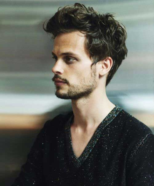 Matthew Gray Gubler Wavy Short Hair