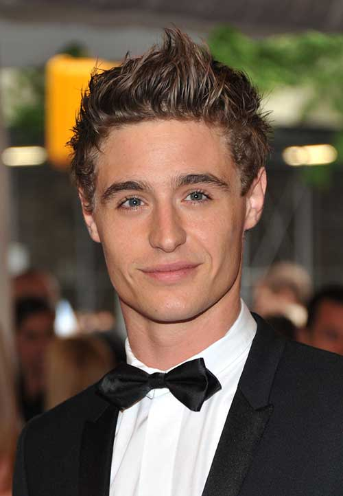 Max Irons Hair Spiky Hairstyles for Men