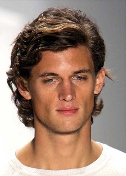 Hairstyles For Men With Medium Hair : Medium Length Hairstyles for Men