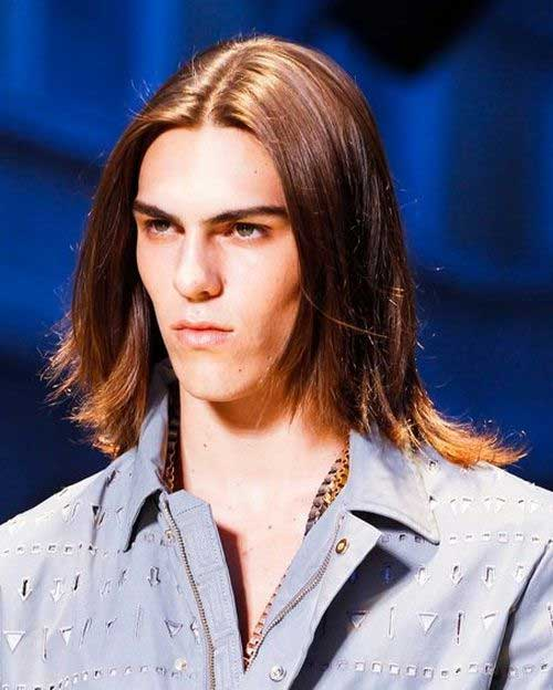 Men's with Fine Hair Long Haircuts 2015