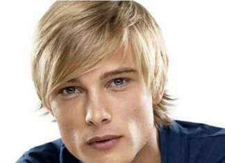 Blonde Colored Layered Hair Style