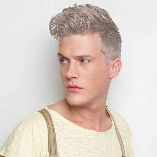 Hair Color For Men : Silver Hair Color For Men Pictures to pin on Pinterest