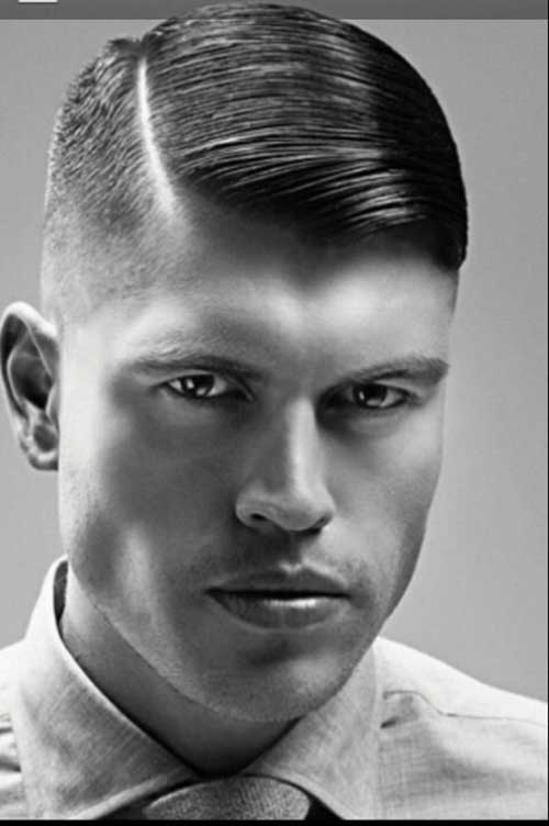 Men's Slicked Side Part Hairstyles