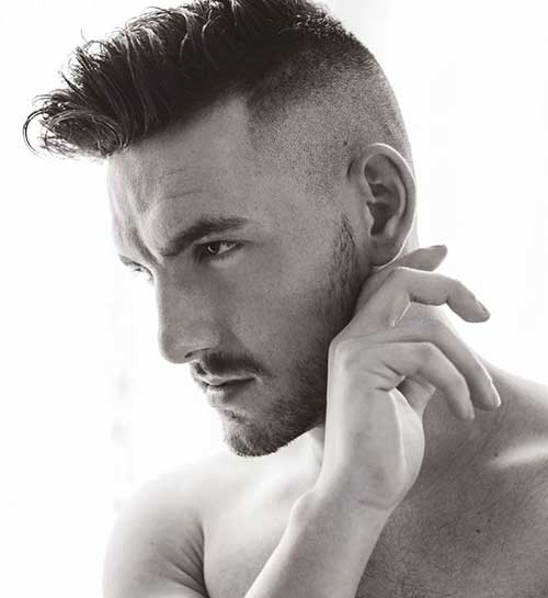 short back long front hairstyles : 15 Mens Shaved Hairstyles Mens Hairstyles 2016