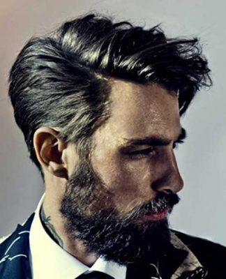 Slicked Men Hairstyles 2014-2015