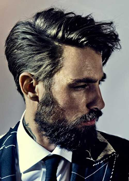 10 Medium Length Haircuts Men Mens Hairstyles 2016