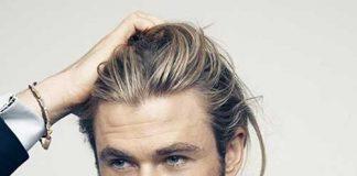 Chris Hemsworth Mens Hairstyles for Fine Hair