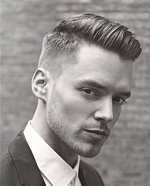 Awe Inspiring 10 Hairstyles For Men With Thick Hair Mens Hairstyles 2016 Short Hairstyles Gunalazisus