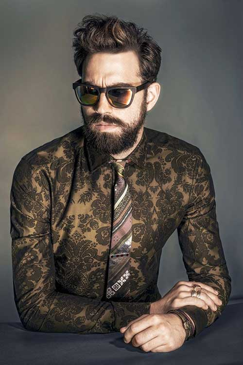 Ilias Petrakis Mens Latest Hairstyles 2014-2015