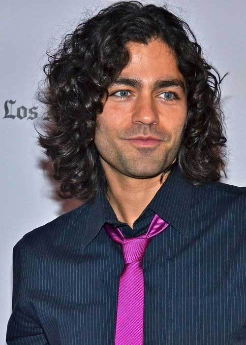 Mens Longer Hairstyles with Curls