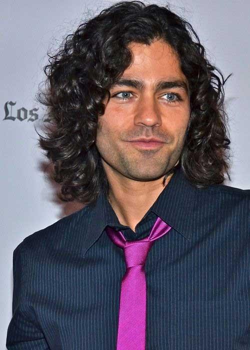 Stupendous 10 Mens Long Curly Hairstyles Mens Hairstyles 2016 Short Hairstyles Gunalazisus