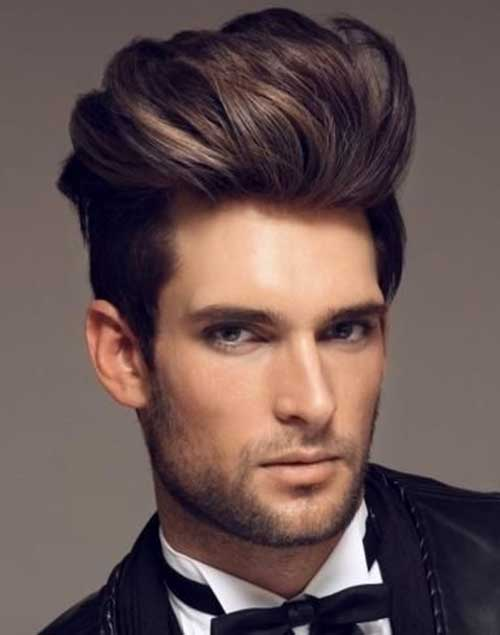 Awesome 10 Pompadour Hairstyle Men Mens Hairstyles 2016 Short Hairstyles Gunalazisus