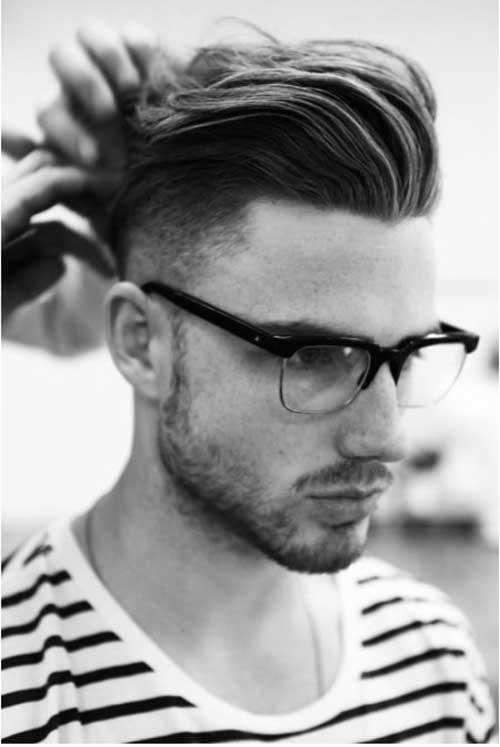 Morris Motley Mens Pompadour Haircut