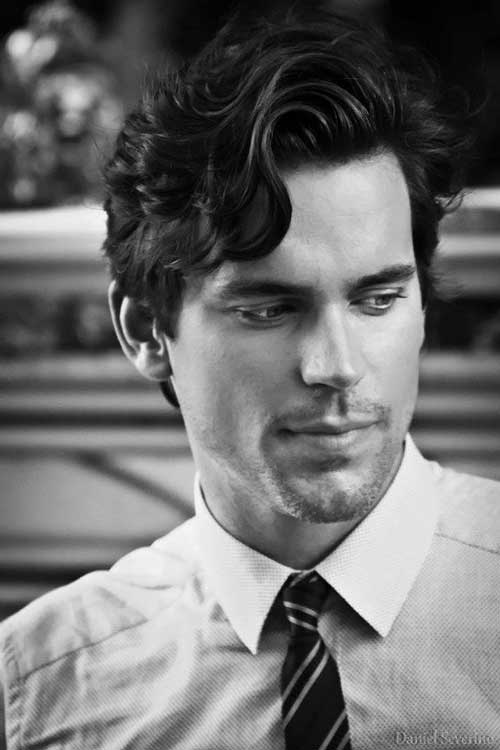 Matt Bomer Mens Wavy Hair