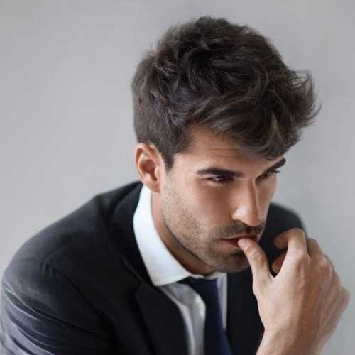 Awesome Messy Hairstyles for Business Men