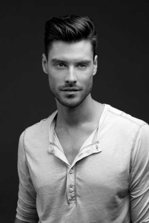 Messy Modern Pompadour Latest Hairstyles for Men