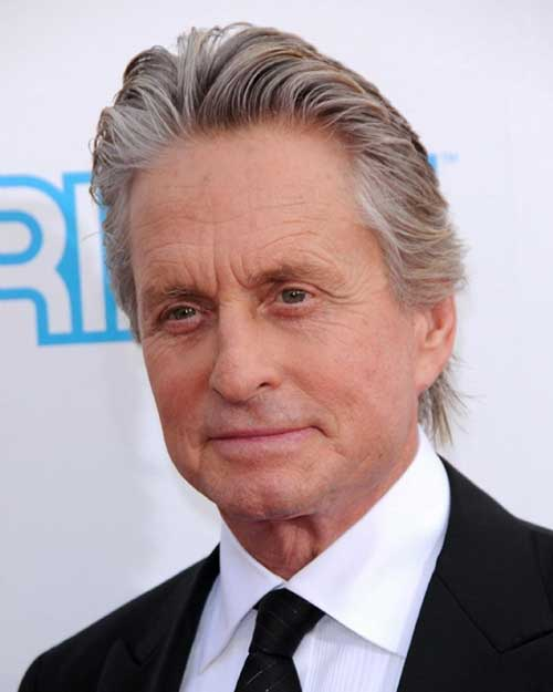 Michael Douglas Older Man Hairstyles