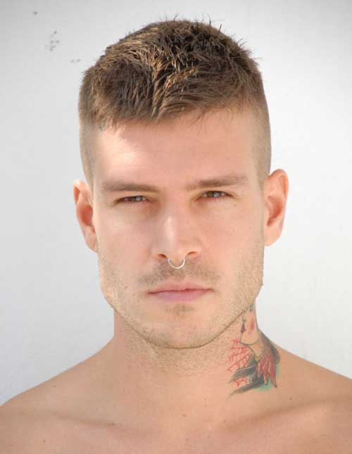 Mateus Verdelho Military Haircuts for Men