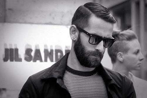 Modern Slicked Back Haircuts for Men